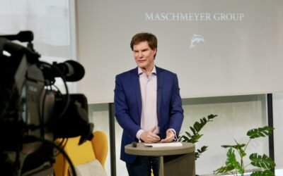 Carsten Maschmeyer zu Besuch am TUM Campus Heilbronn