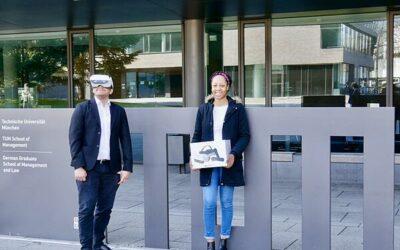 Wie im echten Hörsaal, nur in virtueller Realität