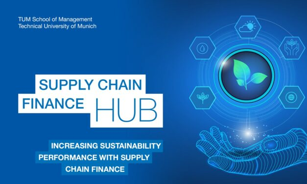 Increasing Sustainability Performance with Supply Chain Finance