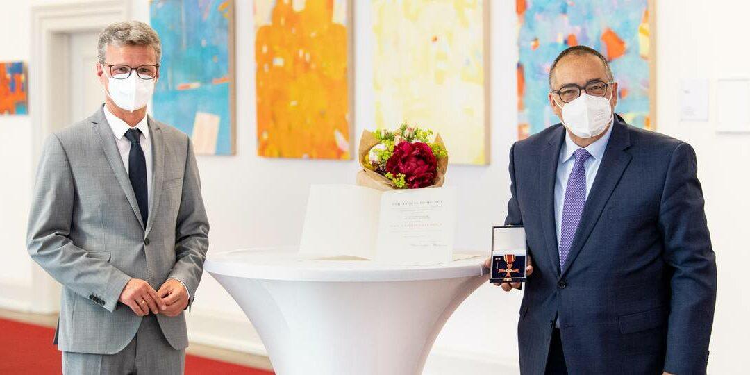 Prof. Helmut Krcmar erhält Bundesverdienstkreuz